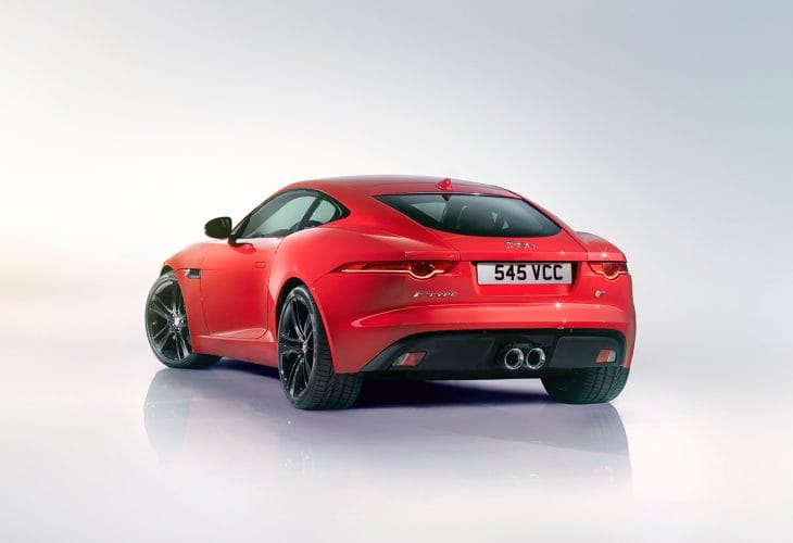 Jaguar F-type coupe speed and fun