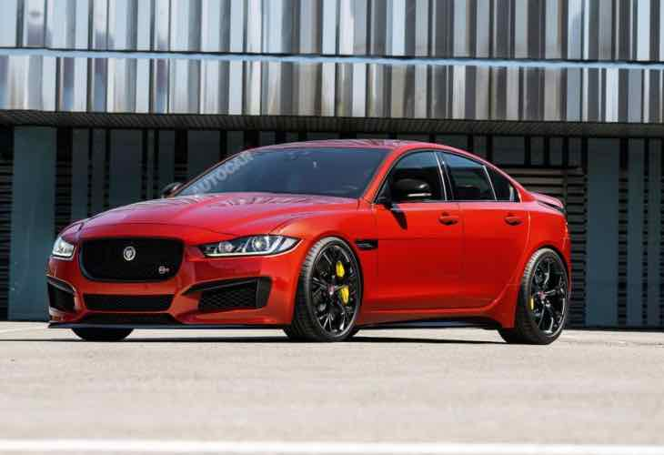 Jaguar XE-R performance
