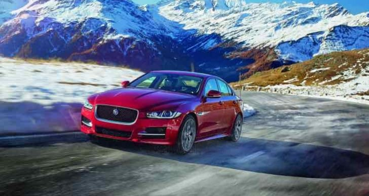 Jaguar XE all-wheel drive now available to order