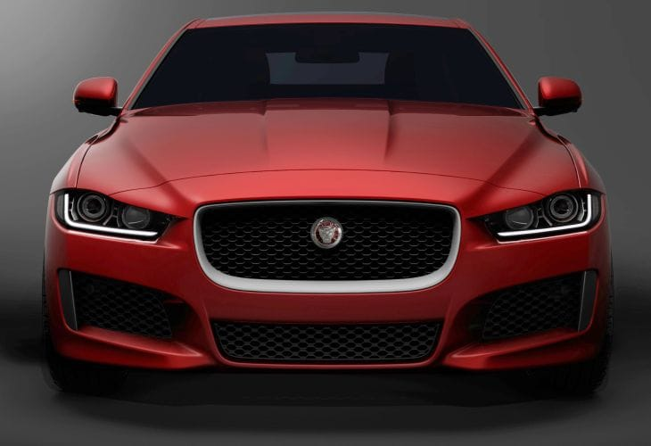 Jaguar's XE compact sports sedan confirmed at 2014 GMS