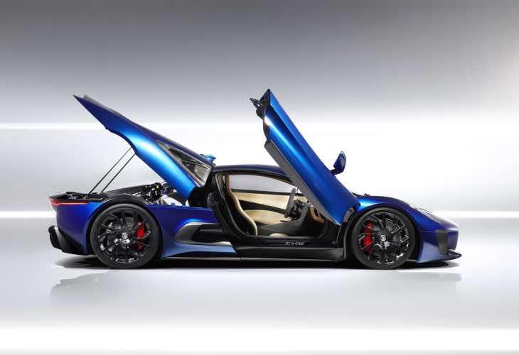 James Bond 24 villain car, Jaguar C-X75