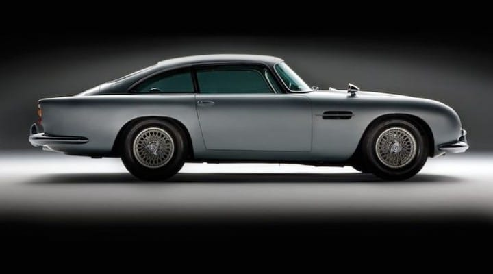James Bond car collection up for grabs at a mere $33 million
