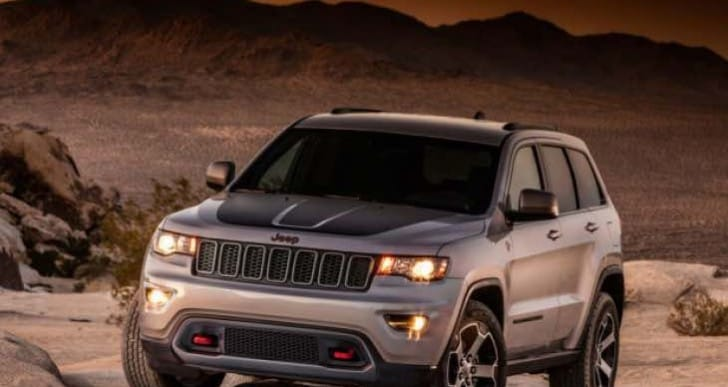 Jeep Grand Cherokee Trailhawk leak, not Hellcat Trackhawk