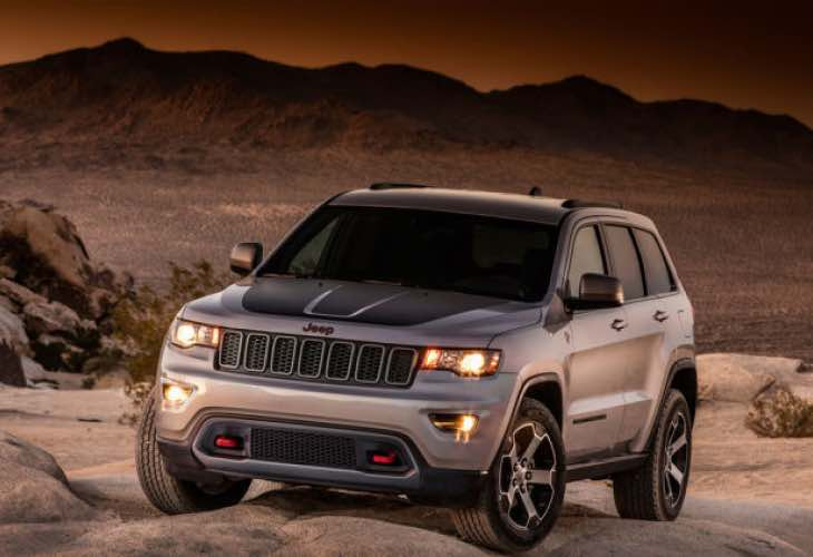 Jeep Grand Cherokee Trailhawk leak