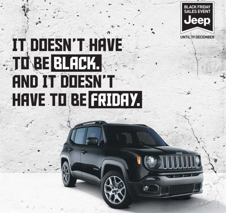 Jeep Renegade price drop