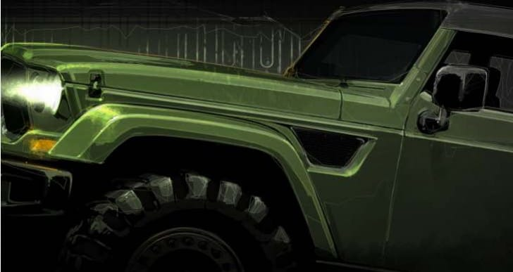 Jeep Wrangler Tailcoat concept this month is misleading