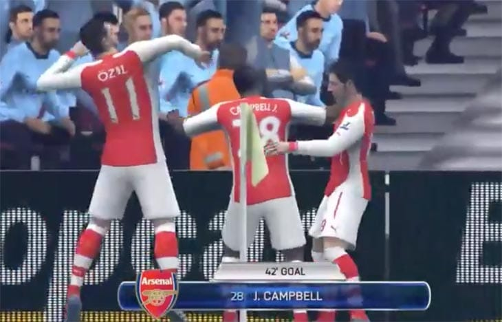 Joel-Campbell-scores-Arsenal-FC