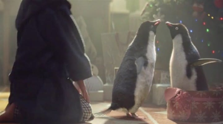 John Lewis 2014 Christmas TV ad viral replication