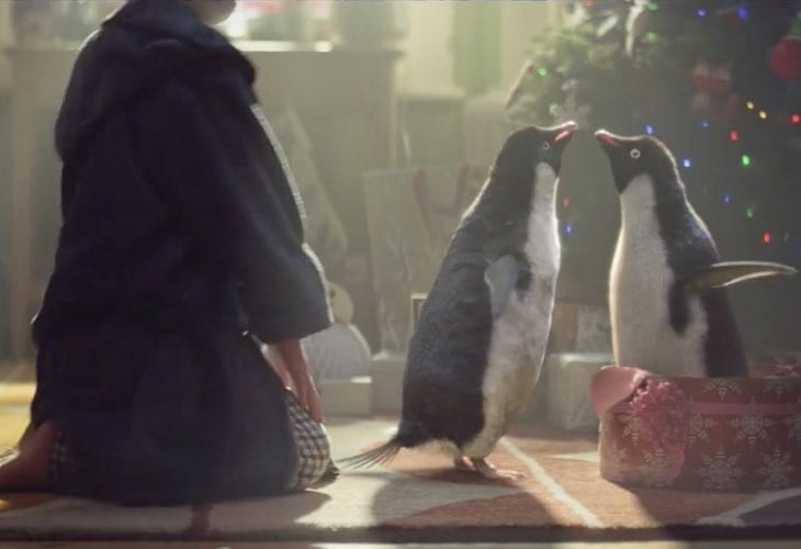 John Lewis 2014 Christmas TV ad viral replication