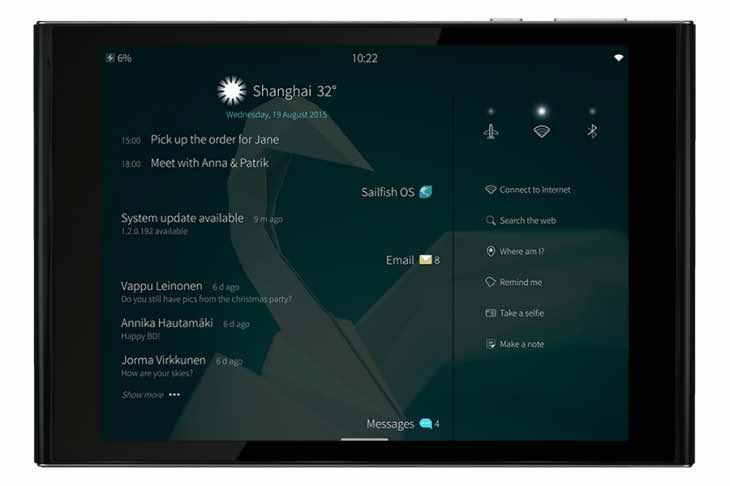Jolla Tablet December delivery schedule