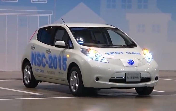 Joy for self-driving cars shown in video