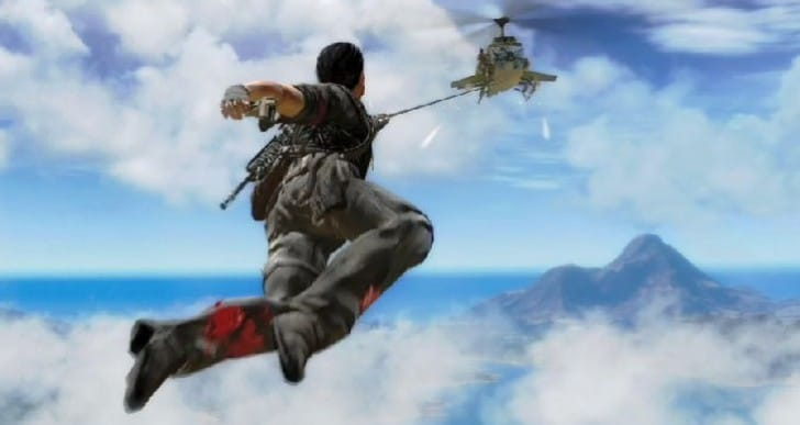 Just Cause 3 signaled by environment research