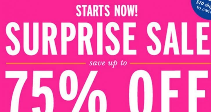 Kate Spade surprise sale ends tomorrow