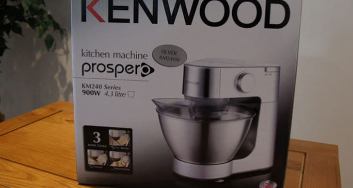 Review of the Kenwood KM240Si Prospero Kitchen Machine
