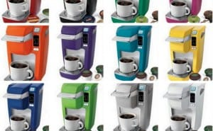 Keurig K10 Mini and OfficePRO 145 coffee brewers