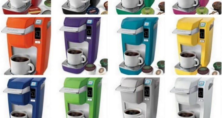 Keurig K10 Mini and OfficePRO 145 coffee brewers