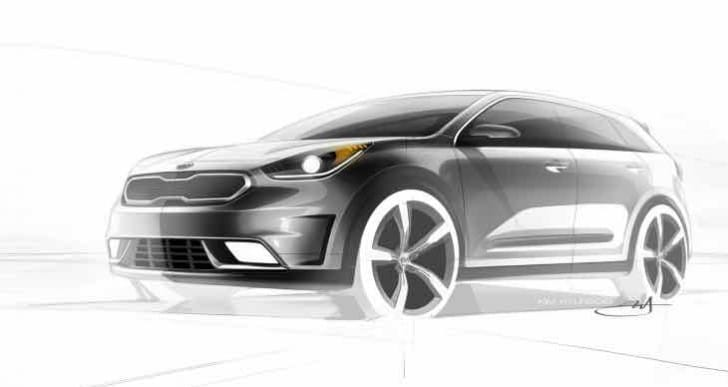 Kia Niro Hybrid Utility Vehicle production schedule