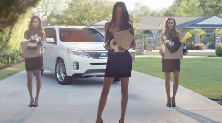 Kia Optima, Sorento World Cup 2014 commercials flawed