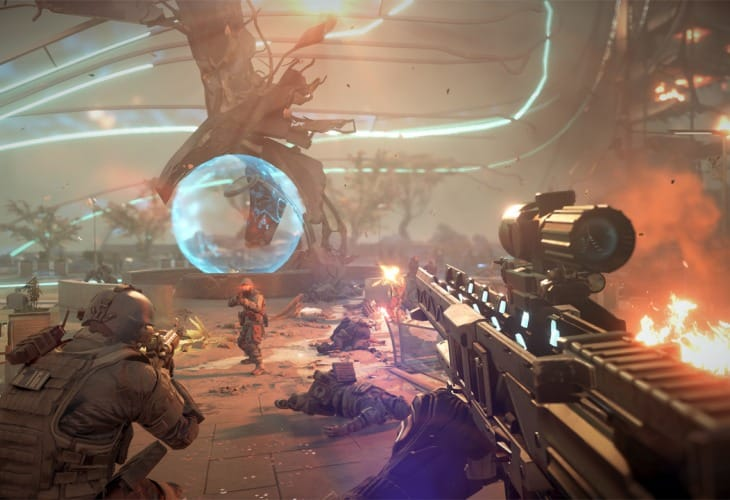 Killzone- Shadow Fall PS4 1.05 update improves support
