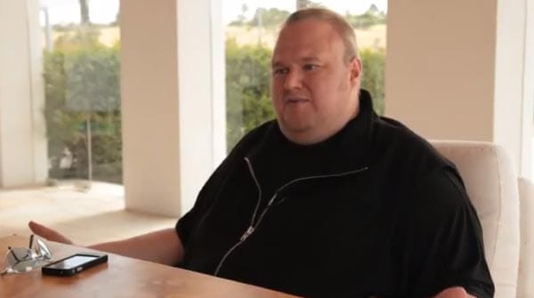 Kim Dotcom starts new mega website