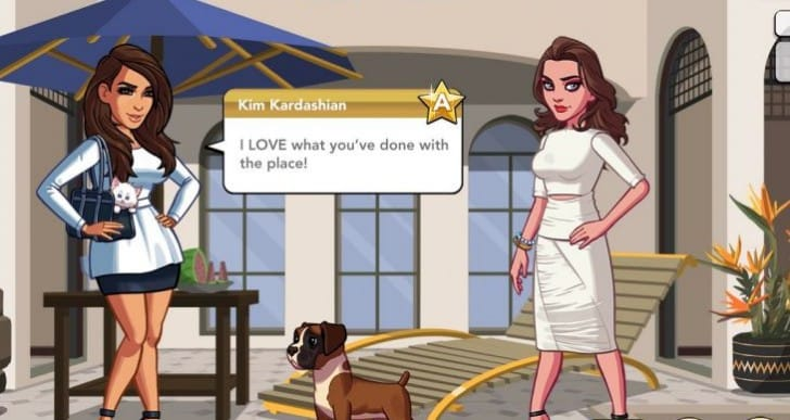 Kim Kardashian App Store spending addiction