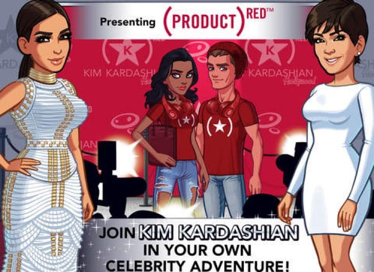 Kim Kardashian Hollywood 2.3 app update for RED