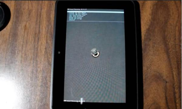 Kindle Fire HD 7 running Android CM10