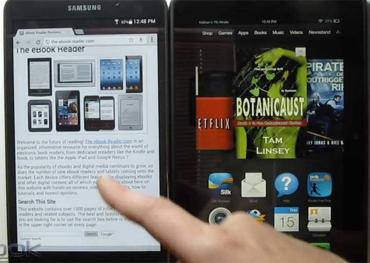 Kindle-Fire-HDX-7-Vs-Galaxy-Tab-4-hands-on