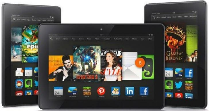 Kindle Fire HDX tablets get Amazon discount over weekend