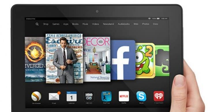 Kindle Fire HDX 8.9 vs. iPad mini 3 visual review