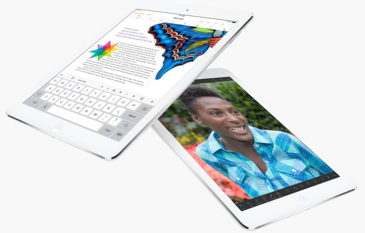 The iPad Air is a thing of beauty