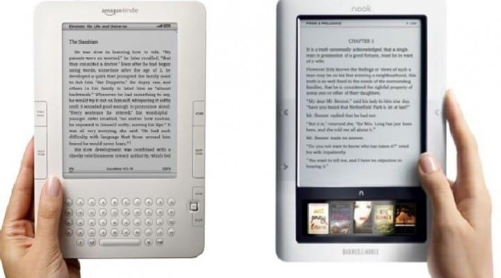Barnes & Noble Nook sales struggle against Amazon Kindle