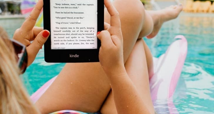Waterproof Kindle Paperwhite without a case
