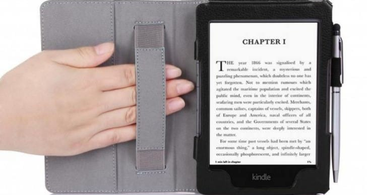 Kindle Voyage Classic Slim Fit Folio Leather Case
