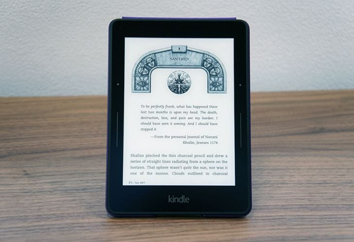 Kindle Voyage with next-Gen Paperwhite Display