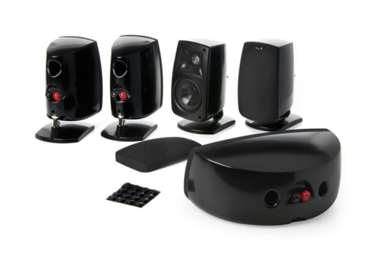 Klipsch QUNTETV 5-Channel home theater speakers