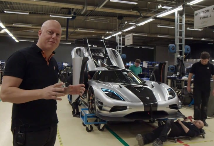 Koenigsegg Agera One-1 preparation video