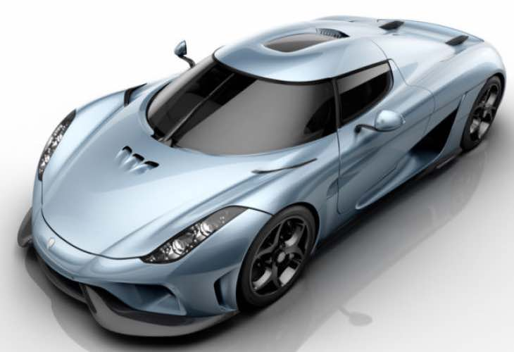 Koenigsegg Regera performance figures