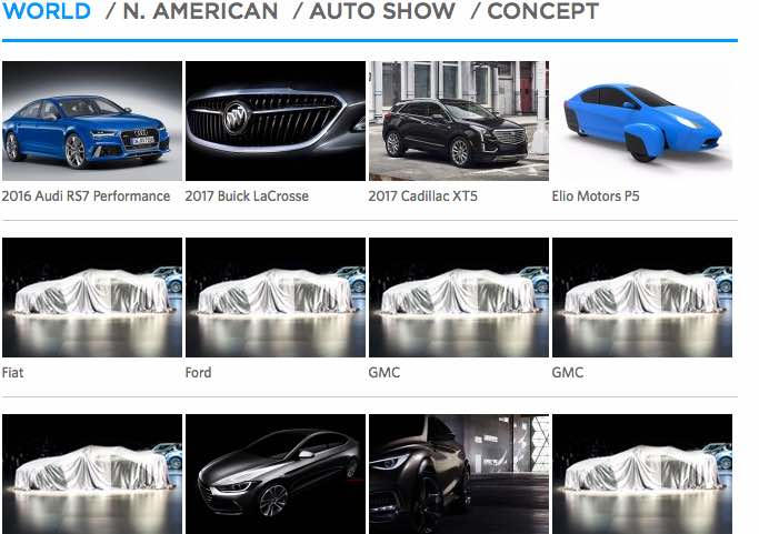 LA Auto Show debut vehicles