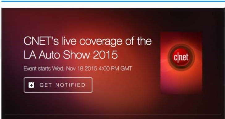 LA Auto Show live stream for debuts on Nov 18
