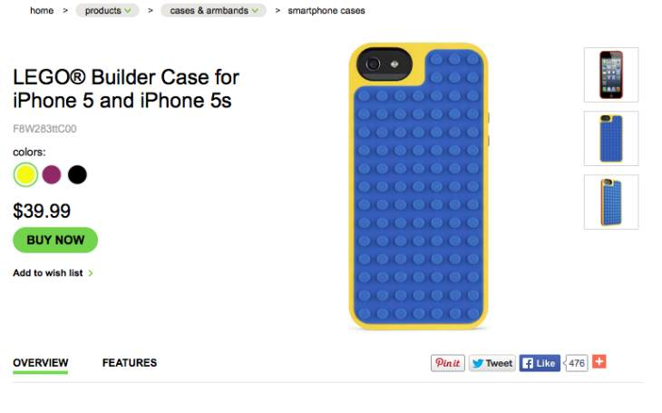 LEGO Builder Case for iPhone 6