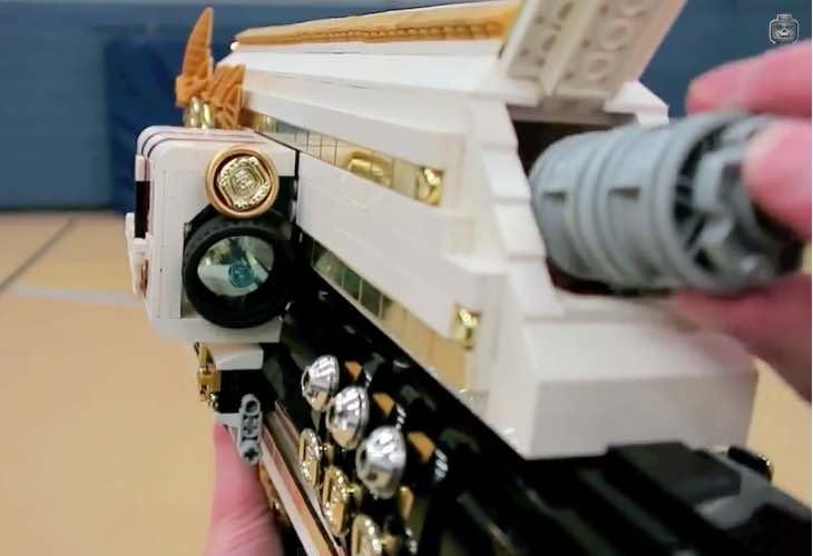 LEGO Gjallarhorn rocket launcher