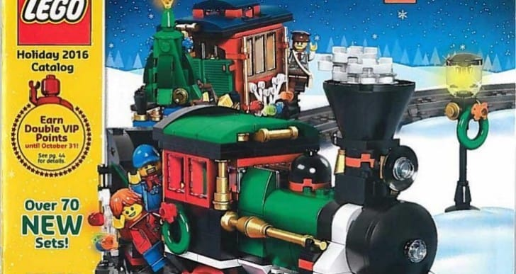 LEGO Holiday Catalog 2016 reveals 75 new sets