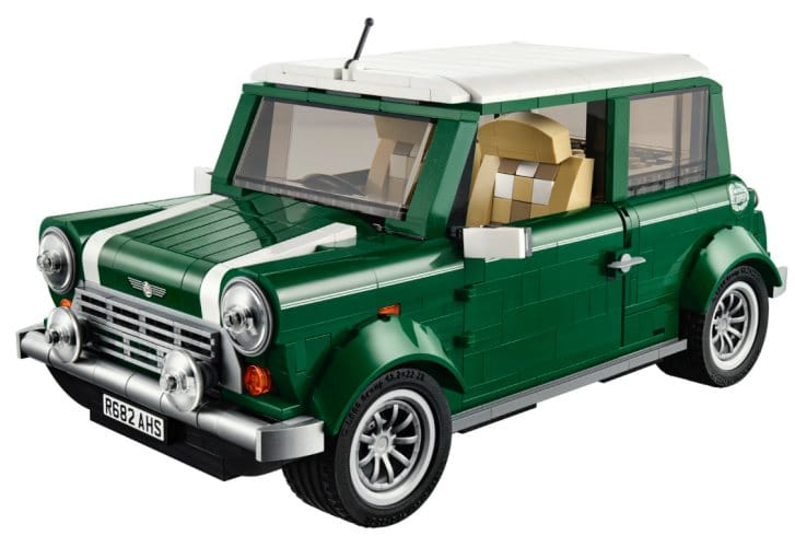 LEGO Mini Cooper release after Father's Day
