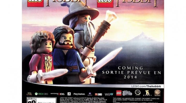LEGO The Hobbit Video Game revealed minus trailer