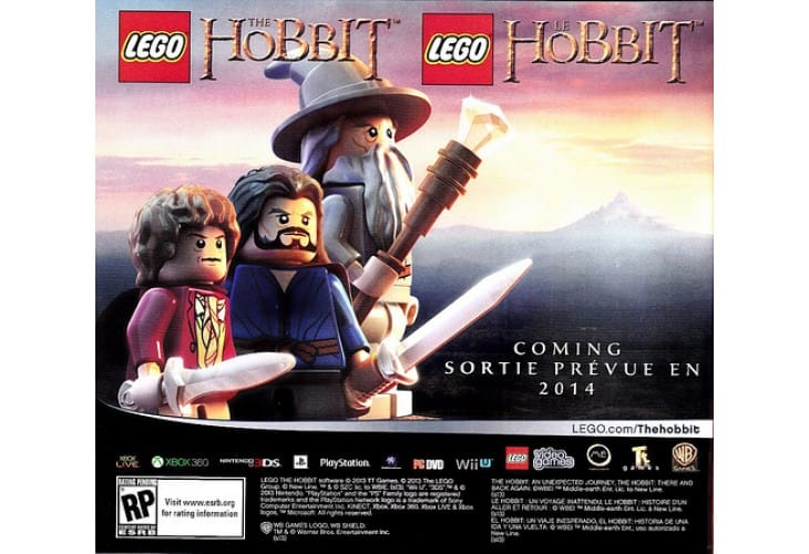 LEGO The Hobbit Video Game revealed minus trailer