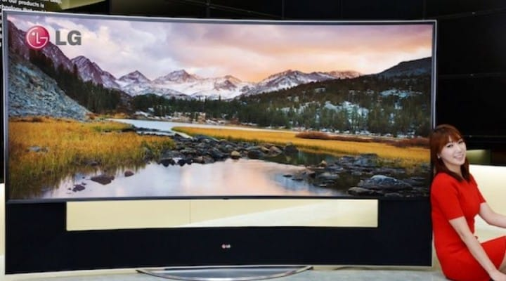 LG 105UC9 105-inch 4K TV pre-orders live, US to follow