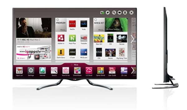 LG 2013 TV lineup focuses on Google with OnLive