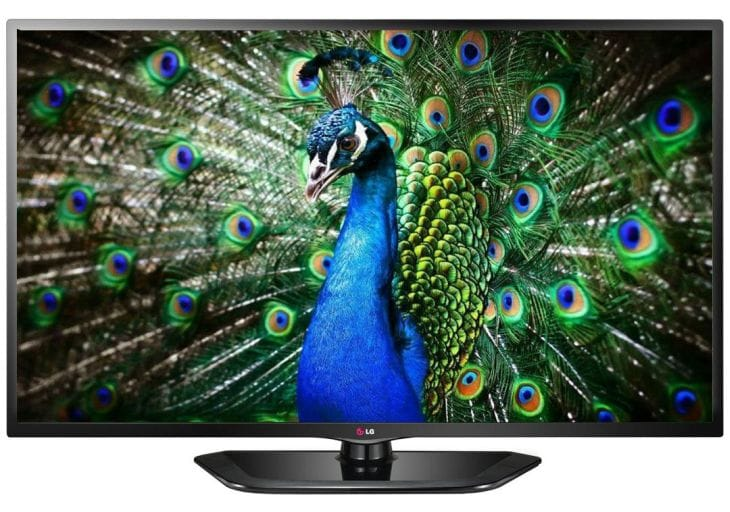 LG 32LN5650 JAZZ LED TV specs close-up