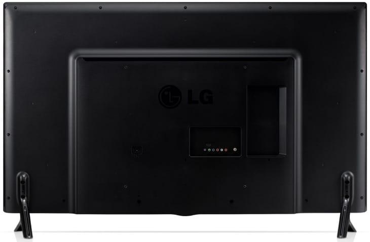 LG 49LB5550 Rear